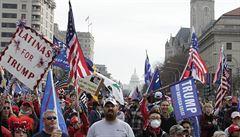 'Ukradené volby'. Příznivci Donalda Trumpa demonstrovali ve Washingtonu a dalších městech