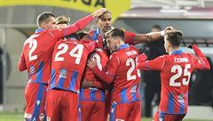 Fotbalisté Plzně porazili Brest i venku 2:1 a postoupili. Slovácko nezvládlo penalty