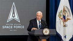 'Strážci' vesmíru ohlídají americké satelity. Pence prozradil nový název bojové jednotky