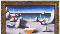 Obraz Královna moří od Jana Zrzavého se v aukci prodal za 27 milionů korun