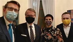 Koalice ODS, lidovců a TOP 09 chce mít program do konce února. Kandidátem na premiéra bude Fiala