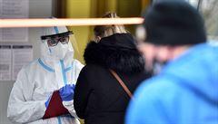 Za úterý přibylo v Česku  přes 10 tisíc nových případů koronaviru, PES je na 81 bodech