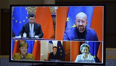 Brusel dal k ledu dohodu s Čínou o investicích, důvodem jsou i sankce kvůli Ujgurům