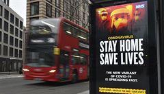 Británie má nejvíc nových případů koronaviru od února, za nárůstem je nebezpečná mutace delta