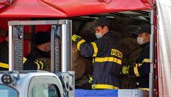 Hasičům loni ubylo požárů, celkových událostí ale měli více díky koronavirové pandemii