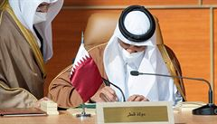 Blízký východ: další průlom díky dohodě čtyř států s Katarem. Společně chtějí čelit Íránu