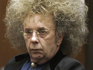 Phil Spector v roce 2005 během soudního přelíčení.