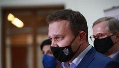 'V našem klubu není žádný pitomio,' řekl Jurečka na adresu SPD. Za výrok se následně omluvil