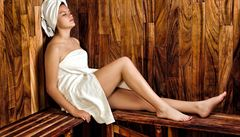 Rozhicované zdraví. Do sauny nejen kvůli účinkům na zdraví, ale i na divadelní show