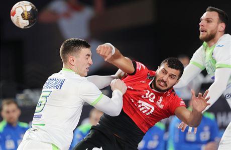 Rozpáraný dres i krev z nosu. Egypťané jsou na domácím MS po líté bitvě ve čtvrtfinále