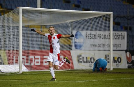 Slavia si s chutí zastřílela proti Zlínu, hattrickem zazářil Kuchta. Ostrava vyhrála v bitvě o páté místo