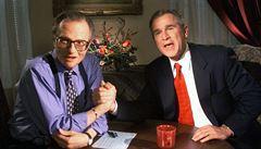 Zemřel legendární americký moderátor Larry King, začátkem ledna byl hospitalizován s covidem