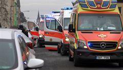 Převoz pacientů nemocnicím v Chebu a Sokolově pomohl jen krátce, kapacita se opět rychle plní