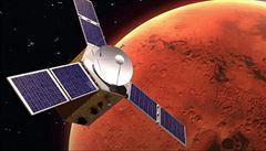 Velké vesmírné finále: k Marsu se blíží v jeden čas hned tři sondy s cílem zmapovat rudou planetu