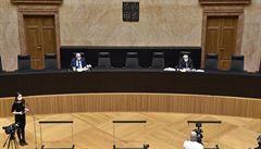 Ústavní soud se vrátí k veřejnému vyhlašování nálezů. V říjnu od nich kvůli koronaviru upustil