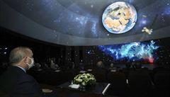Velké plány Erdogana: Turecko chce do tří let s vlastní raketou přistát na Měsíci