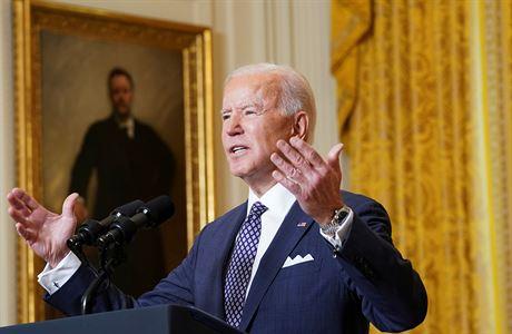 USA nechtějí konflikt s Ruskem a Čínou, své zájmy ale budou bránit, řekl při projevu Biden