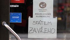 Co to znamená pro maloobchody? Vláda zjišťuje faktické dopady rozhodnutí Ústavního soudu