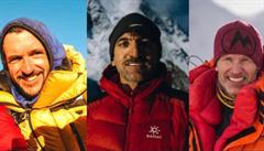 Ztraceni pod vrcholem bájné K2. Zkušený horolezec Holeček: Nejsou naživu, pocitově je tam 70 stupňů pod nulou
