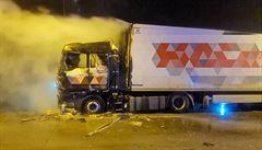 Lochkovský tunel v Praze byl 15 hodin uzavřen kvůli požáru kamionu, nikdo se nezranil