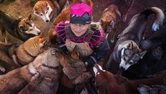 Psi si občas dají na budku, ale tolerují se, říká česká musherka Jana Henychová o své smečce