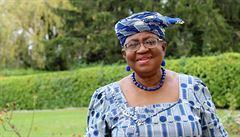 Nigerijka Okonjová-Iwealová bude jako první žena v čele WTO
