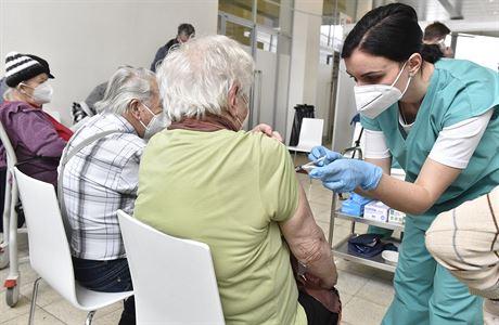 La vaccination des seniors contre ... |  suite à l'hôpital de remplacement du parc des expositions de Brno sur le serveur Lidovky.cz |  actualités