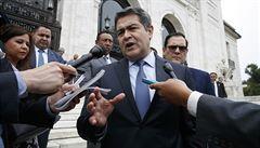 Honduraský prezident odmítl, že by se podílel na pašování drog. Snaží se mě očernit, hájí se