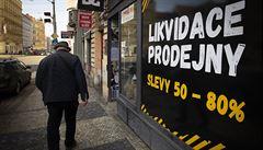 Pandemii letos v maloobchodu nepřežilo 2000 firem a 10 000 živnostníků