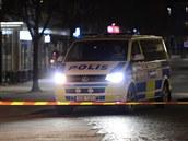 Podle médií ve Švédsku útočil 22letý Afghánec, policisté ho při zásahu postřelili