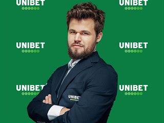 Magnus Carlsen se stal tváří Unibet.