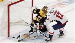 Pastrňák v NHL vstřelil jediný gól Washingtonu, nájezdy ale rozhodl Vrána