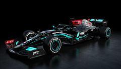 OBRAZEM: Hamilton znovu pojede v černém. Jak se vám líbí nový monopost Mercedesu?
