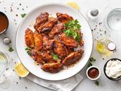 Pečená kuřecí křídla. Recept podle foodblogerky na jednoduchý oběd