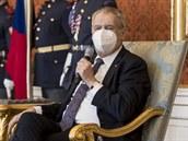 Prezident Zeman na Hradě jmenoval nové generály, Koudelka se opět nedočkal