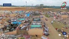 Celé bloky zničených domů, děti bez rodičů. Rovníková Guinea bojuje s následky ničivých výbuchů