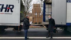 Správa rezerv převzala na hranicích 40 tisíc antigenních testů, které jsou darem od Saska