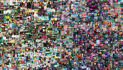 V Londýně se prodal digitální obraz s certifikátem za více než 1,5 miliardy korun