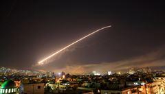 Syrská protivzdušná obrana zasáhla proti izraelskému útoku, údajně sestřelila několik raket