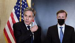 USA a Čína si na Aljašce nic nedarovaly. První jednání po změně v Bílém domě provázela mrazivá atmosféra