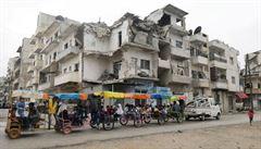 Syřané budou znovu utíkat, nebude-li zajištěna pomoc. Přístup k potravinám komplikuje i koronavirus