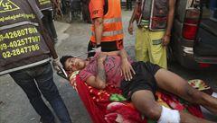 Bezpečnostní složky v Barmě zastřelily v pátek osm lidí. V zemi to po převratu nadále vře