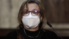 Hlavní hygienička Svrčinová je po kolapsu opět v práci, potvrdil Arenberger