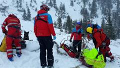 Ženě zasypané v lavině v Krkonoších ostatní lyžaři nepomohli. Buď odjeli, nebo neměli vybavení