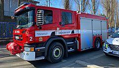 V Hořovicích na Berounsku hoří lakovna, hasiči vyhlásili třetí stupeň poplachu