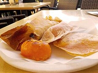 Typické portugalské zákusky se skládají většinou z cukru a vajíčka.