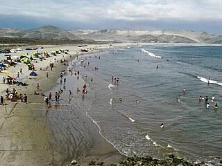 Oblast kolem Chimbote, kde žiji, je plná krásných pláží, které ale nikdo moc...