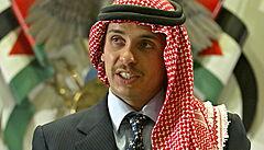 Jordánský princ v nahrávce tvrdí, že je v domácím vězení. Král podle něj zasáhl vůči svým kritikům