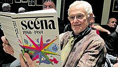 Seděli jsme spolu třináct roků, vzpomíná Vítězslav Čížek na zesnulého kritika Jana Folla