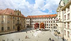 Mariánské náměstí v Praze změní podobu. Zmizí z něj auta, architekti hledali inspiraci i v Londýně